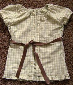 Refashion a Man's Shirt to a Woman's Shirt Tutorial
