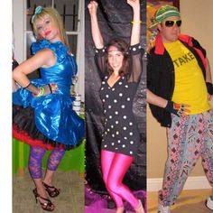 80 S Party Costume Ideas