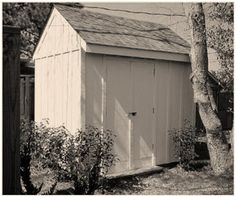 Free Storage Shed Plans from SouthernPine.com - These free plans for a practical 8'x10' storage shed include a complete material list and step-by-step building instructions.