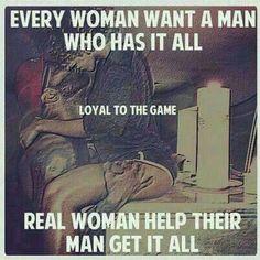 Real man and woman