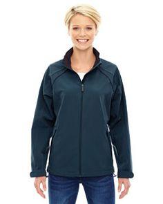Ash City - North End Ladies' Three-Layer Light Bonded Soft Shell Jacket Regata Blue