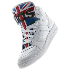 image: adidas Jeremy Scott Instinct Hi Union Jack Shoes D65204