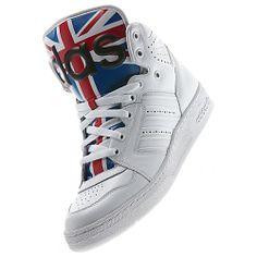 Adidas Jeremy Scott Instinct Hi Union Jack Shoes