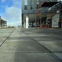 Revelstone has supplied its Jura paving range for the exterior surfaces at Bridge Park, a new office precinct development situated at Century City in Cape Town...