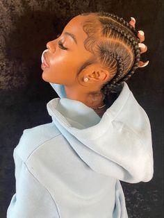 tadiorx Black Girl Braided Hairstyles, Black Girl Braids, Braids For Black Hair, Girls Braids, Braids Hairstyles Pictures, African Braids Hairstyles, Weave Hairstyles, Slick Hairstyles, Hairdos