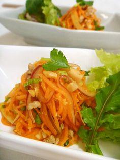 タイ風人参サラダ