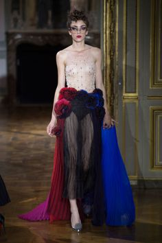 Ulyana Sergeenko Haute Couture Fall 2015/2016. See all the best looks from Paris.