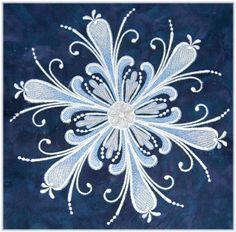 rosemal snowflake - Google Search