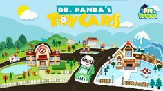 Explore TWO huge cities and drive tons of different cars and trucks in Dr. Panda's Toy Cars! Take control of a fire truck, turn on your sirens in a police car and play any way you want!   If your kids like playing with toy cars, then they will definitely love this game!