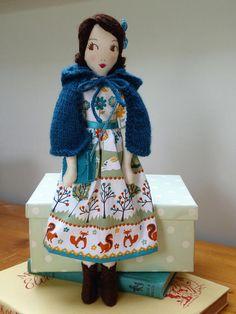 Little Darling Woodland Girl Heirloom Doll