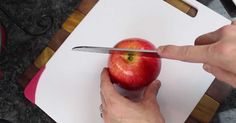 After Watching This, I'm Never Cutting Apples The Same Way Again