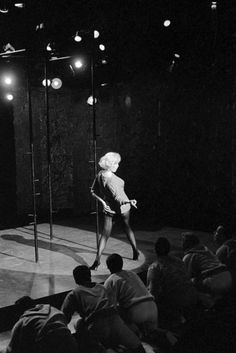 """""""Marilyn Monroe in Let's Make Love. """" Bert Stern, Marilyn Monroe Photos, Marylin Monroe, Lets Make Love, Let It Be, Daddy, Music Licensing, Norma Jeane, Life Moments"""