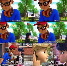 Is this a sign that adrien doesn't like Marinette....I mean he told nino to ask her out and to tell her he loves her! Was he just trying to be a good friend or does he not like her. This is not good Adrien has to like marinette or I'm gonna be upset!