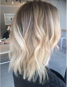 Color..blend with natural hair color, blonder ends
