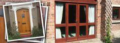 Windows Preston | Doors Preston | Timber Doors Timber Windows, Timber Door, Wooden Windows, Wood Worker, Front Doors, Joinery, Preston, Canopy, Solid Wood