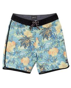 """Live the Search-Hawaii! DISCOVERY SCALLOP 19"""" BOARDSHORT"""