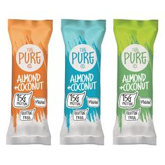 Health/Protein bar packaging/branding design by Chupavi