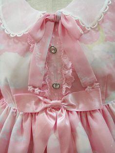 pink angelic pretty sweet lolita lolita fashion Misty Sky AngelicPretty