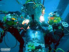 Oceaneering Commercial Divers posted by Patrick Stethem