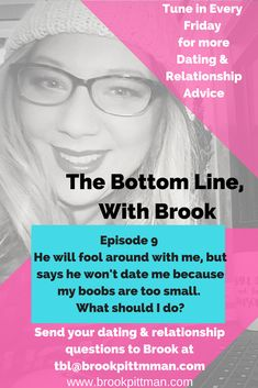 He will fool around with me, but says he won't date me. What should I do? Brook answers your dating & relationship questions on the Bottom Line, with Brook every Friday! Send your questions to tbl@brookpittman.com #datingadvice #relationships