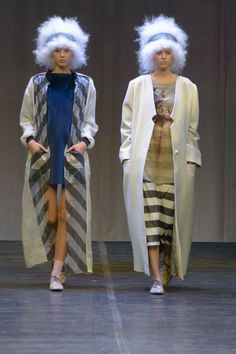 """Modeconnect.com features fashion competition """"Fashion Formula: East – West"""" at the Omsk State Institute of Service. Best in Debut: Puzankova Anastasia collection 'Lavina'"""
