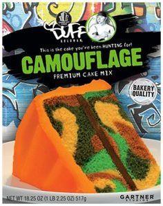 Duff Goldman Camouflage Premium Cake Mix