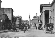 Historic England Archive Content Has Moved Plymouth England, Banks Building, The Blitz, Historical Images, Devon, Theatre, Survival, Tower, Street View