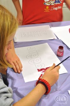 pillow cases slumber party craft idea for girls
