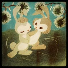 Very early Mary Blair painting. Mary Blair, Children's Book Illustration, Disney Animation, Vintage Books, Disney Art, Scandinavian Design, Color Splash, Illustrators, Concept Art