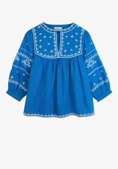 Intricately embroidered pieces for a luxe finish to your look. - View our latest collection and buy securely on our site. Afghan Dresses, Baby Dress Patterns, Kids Wear, Frocks, Kids Girls, Kids Fashion, Women Wear, Brand New, Embroidery