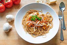 9. resep spaghetti marinara