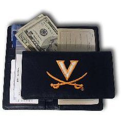 Virginia Cavaliers NCAA Checkbook from Rico