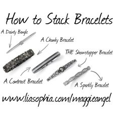 How to Stack Bracele