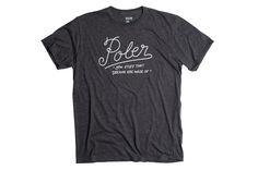Dreams T-Shirt - Black Heather #poler #polerstuff #campvibes