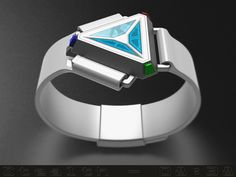 """""""Stealth"""" A triangular faceted watch"""