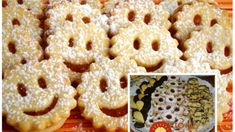 Vianocne pecivo aj s mastou Onion Rings, 4 Ingredients, Doughnut, Christmas Cookies, Holiday Recipes, Food And Drink, Breakfast, Ethnic Recipes, Desserts