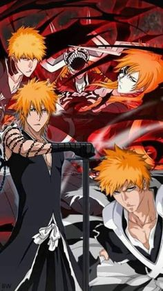 Bleach Fanart, Bleach Anime, Bleach Ichigo Bankai, Bleach Pictures, Kenpachi Zaraki, Bleach Couples, Bleach Characters, Anime Warrior, Dynasty Warriors
