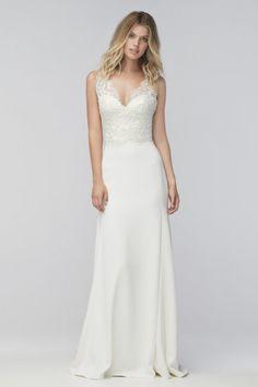 Wtoo Brides Thandie Gown style 16593p @ Mecklenburg Bridal Gallery