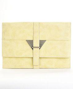 BCBGeneration #bag #clutch #lime #macys BUY NOW!