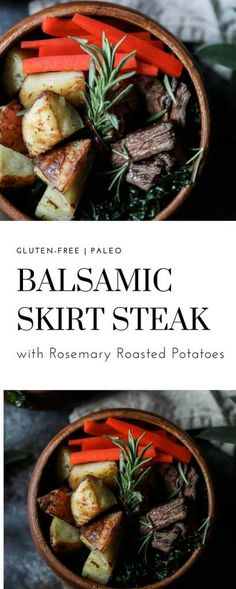 Few dishes more classic than the combination of steak and potatoes and I have become completely obsessed with this recipe for Balsamic Skirt Steak with Rosemary Potatoes. It is incredibly simple, hearty and crazy delicious. We have been trying to keep our meals really clean in January and often times that means that we keep …