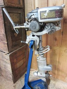 Ahlstrand Marine's Antique Outboard Motors For Sale (My dad had a Elgin and a Champion outboard motor during my growing up at camp on Meddybemps) - John.