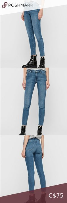 All Saints Grace Skinny Ankle Jeans Indigo All Saints Grace Ankle Length Skinny Jeans. SIZE: 26 COLOUR: Indigo Blue ✨Great Condition! All Saints Jeans Skinny Grey Skinny Jeans, Grey Jeans, Black Skinnies, Black Sweaters, Grey Sweater, Saint Grace, Indigo Blue, Stretch Jeans, Ankle Length