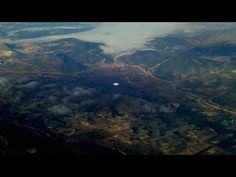 Strange UFO filmed from Airplane Window over CROATIA ! Febr 2017