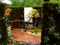 indoor miniature gardens | Indoor miniature Japanese garden | Mini ...