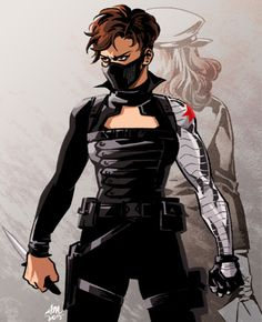 TEMARI's ART Rule63 Bucky <-------fem!Bucky