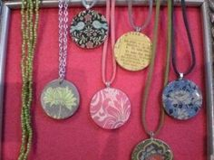 modge podge ideas | Mod Podge ideas with poker chips / Jewelry - Juxtapost