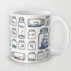 Vintage Preservation by Paula Belle Flores as a high quality Mug. Free Worldwide Shipping available at Society6.com from 11/26/14 thru 12/14/14. Just one of millions of products available.