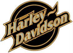 Harley Davidson Logo | Bordado Termocolante Logo Harley Davidson Patch Moto Car67 - R$ 29,80 ...