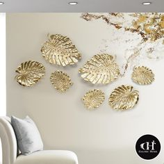 An unexpectedly versatile piece, our Monstera Leaf Wall pieces may act as both a work of wall art or an elegant table platter. Wall Decor Design, Metal Wall Decor, Hanging Wall Art, Wall Art Designs, Diy Wall, Wall Art Decor, Metal Leaf Wall Art, Do It Yourself Organization, Wall Art Wallpaper