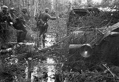 German Troops , Volkhov Pocket 1942